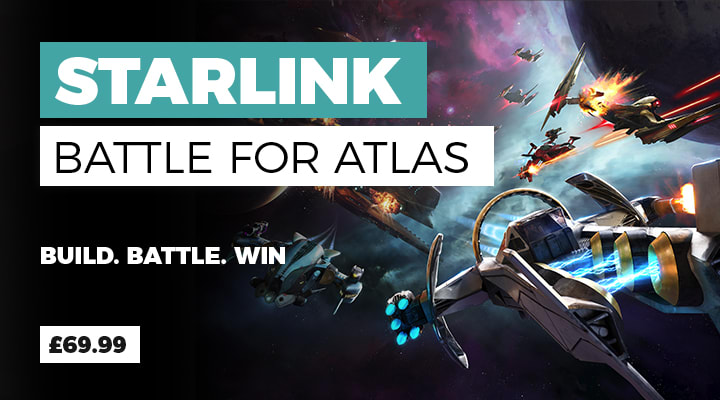 Starlink Battle for Atlas ON on Nintendo Switch