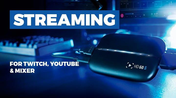 Game Streaming Peripherals - View Full Range
