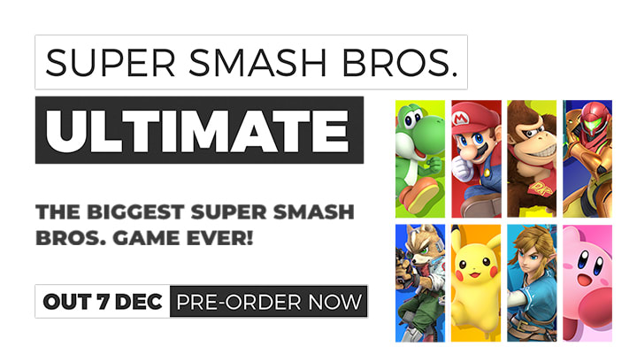 Super Smash Bros Ultimate PO on Nintendo Switch