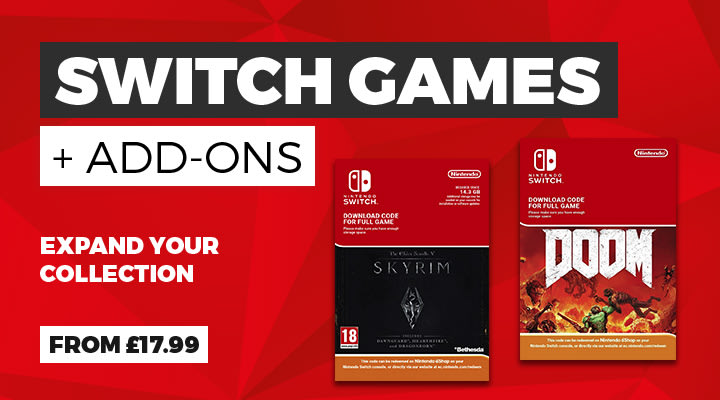 Switch Games and Add Ons
