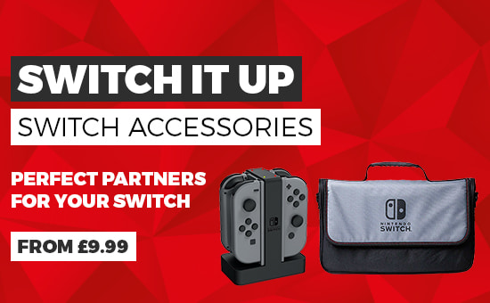 Nintendo Switch Accessory Deals - Buy Now at GAME.co.uk - Homepage Banner