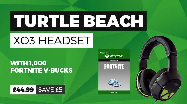 1,000 Fortnite V-Bucks and Turtle Beach headset