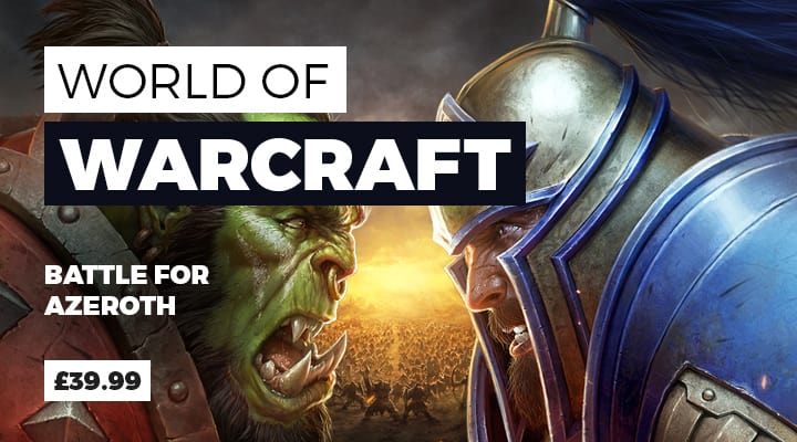 World of Warcraft: Battle for Azeroth - Pre-purchase Now at GAME.co.uk