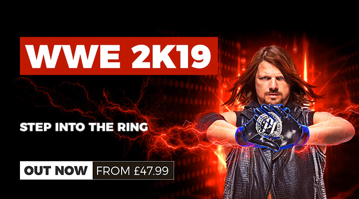 WWE 2K19 Out Now