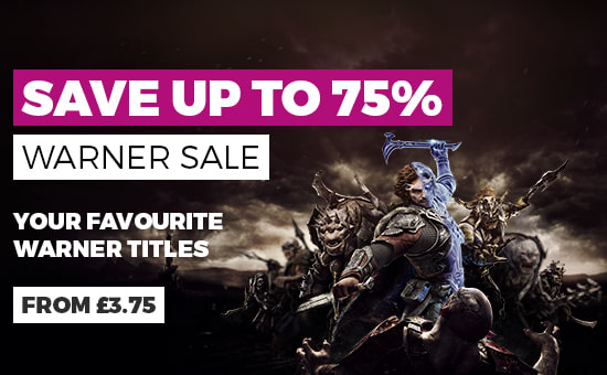 Save up to 75% on Warner Bros PC Downloads - Buy Now at GAME.co.uk
