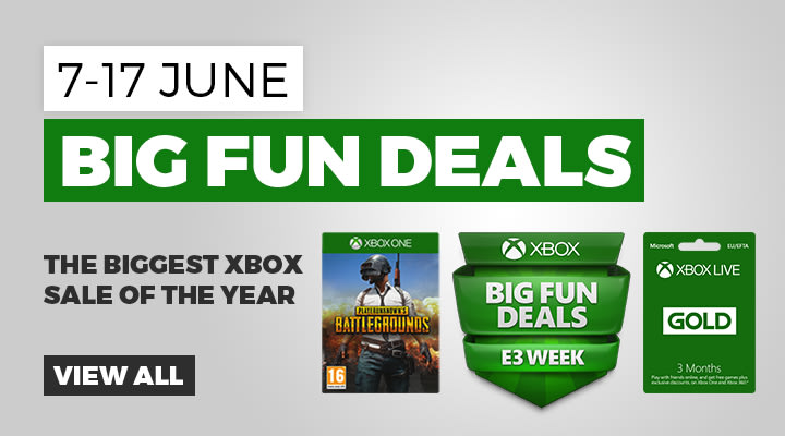 Xbox Big Fun Deals