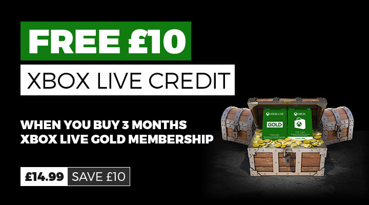 Free £10 Xbox Digital Credit