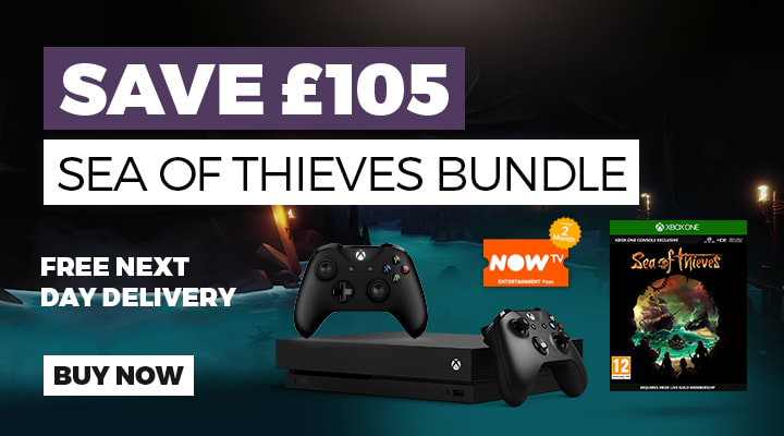 Xbox One X Sea of Thieves Bundle