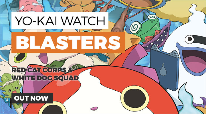 Yo-Kai Watch Blasters on Nintendo 3DS/2DSXL