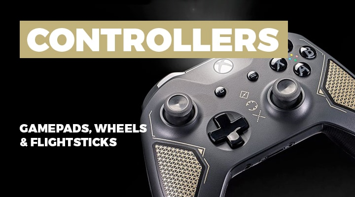 Controllers for PC Gaming - View Full Range
