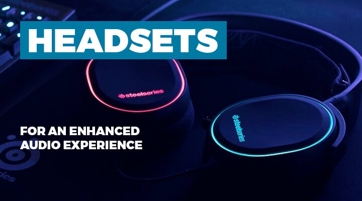 Headsets for PC Gaming - View Full Range