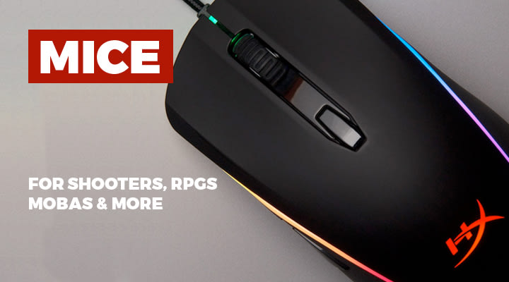 Mice for PC Gaming - View Full Range