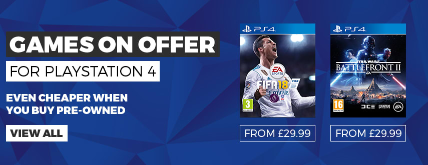 Our Best PS4 Game Offers - Homepage Banner