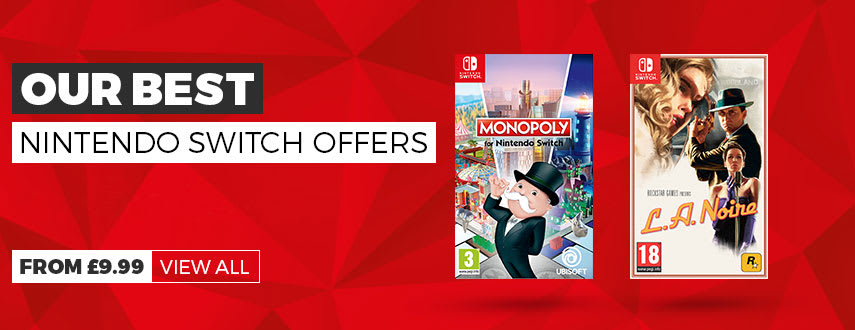 Our Best Nintendo Switch Game Offers - Homepage Banner