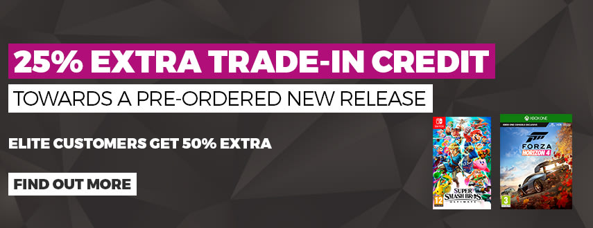 25% Extra trade-In credit when you pre-order
