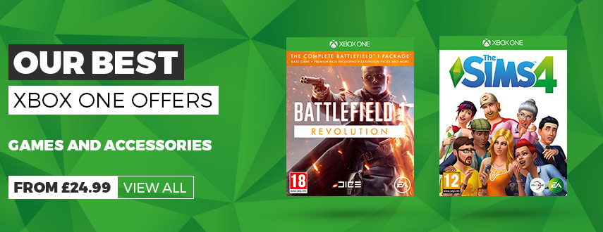 Our Best Xbox One Game Offers - Homepage Banner