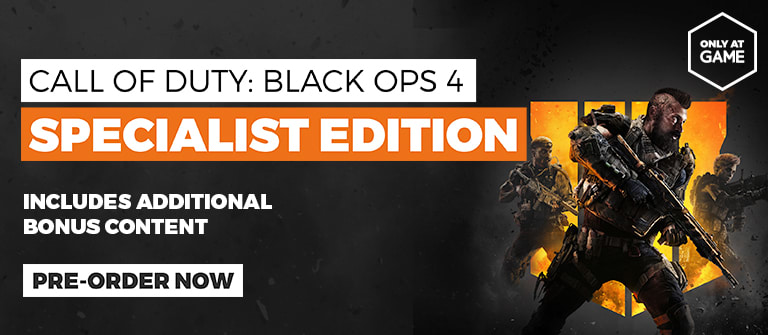 Call of Duty Black Ops 4 Specialist Edition - Out October 12th - Pre-order Now