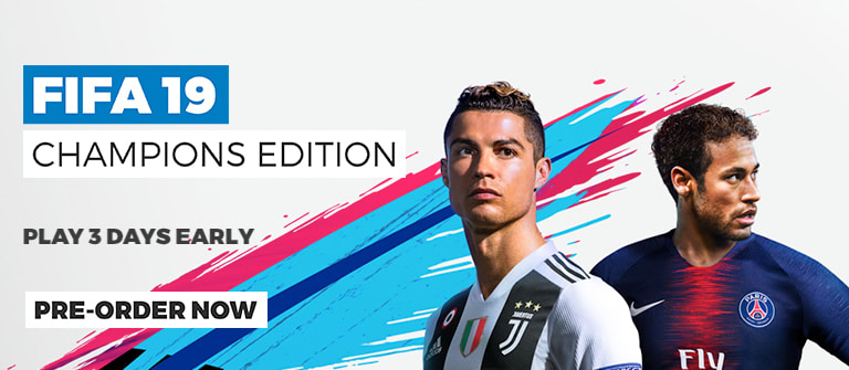 FIFA 19 Champions Edition - Pre-order and get the Game 3 Days Early
