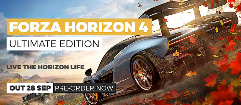 Forza Horizon 4 Ultimate Edition - Out 28th September - Pre-order Now