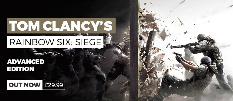 Rainbow Six Siege Advanced Edition - Buy Now at GAME.co.uk - Homepage Banner