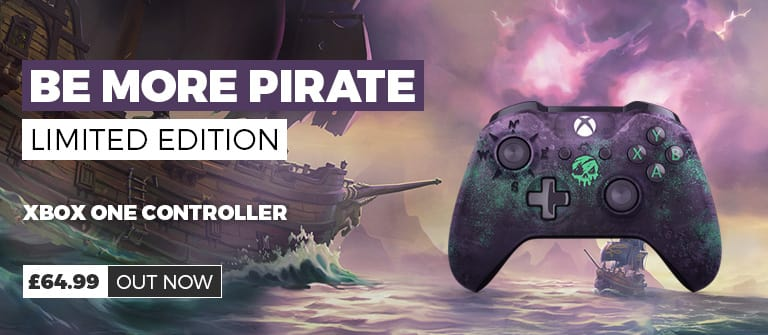 Sea of Thieves Limited Edition Controller - £64.99 - Out Now at GAME.co.uk