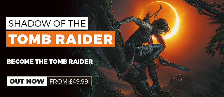 Shadow of the Tomb Raider - Out Now