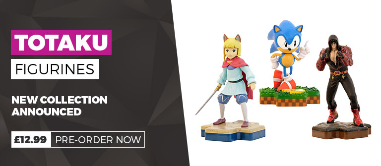 Totaku Figurines - Iconic Gaming Characters - Pre-order Now at GAME.co.uk