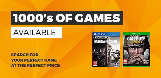1000's of Pre-owned Games at GAME.co.uk