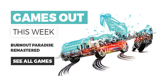 Games out this Week at GAME.co.uk - Homepage Banner
