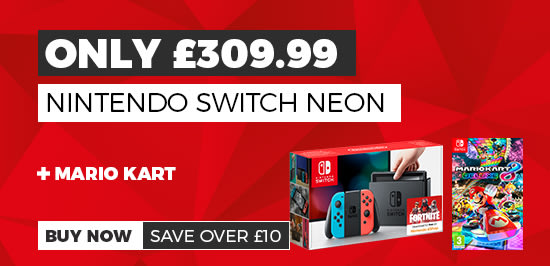 Nintendo Switch Neon with Mortal Kombat only £289.99