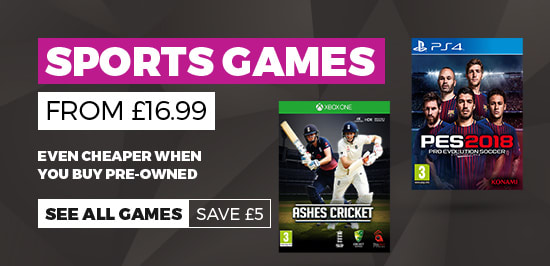 Sports Games from £16.99 - Buy Now at GAME.co.uk