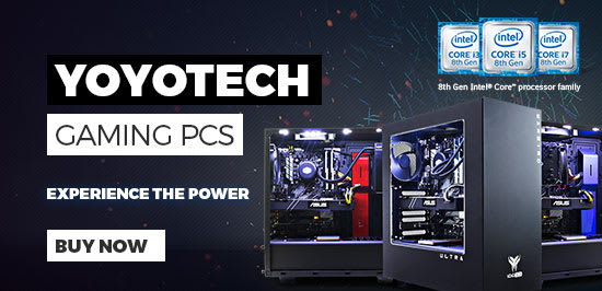 Yoyotech Gaming PCs - Find Out More