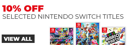 10% off Selected Switch Software - Nintendo