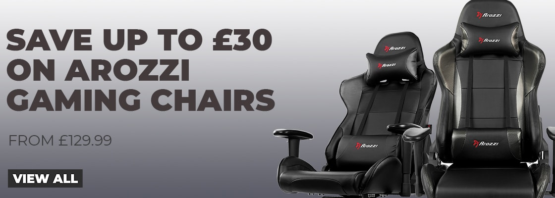 Save up to £30 on Arozzi Gaming Chairs