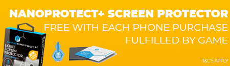 Free NanoProtect Screen Protector