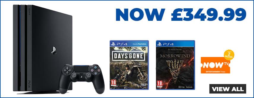 Playstation Pro Days Gone Bundle Offer