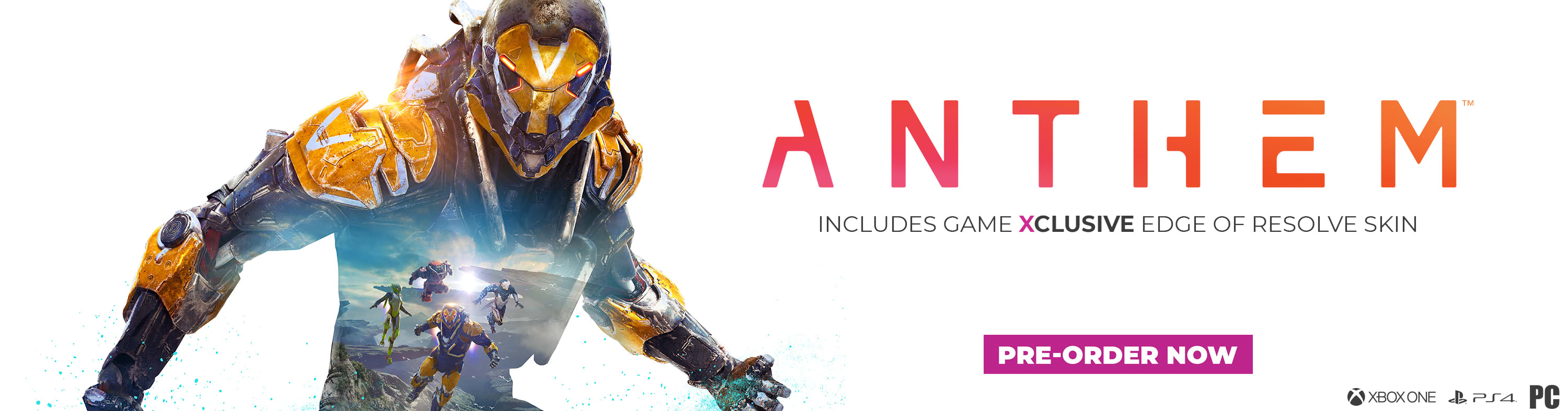 Anthem - GAME Exclusive Edge of Resolve Skin