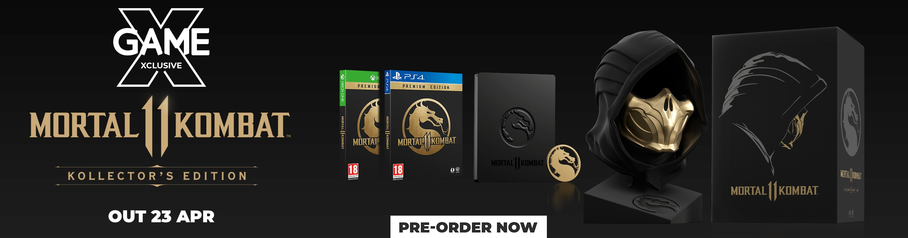 Mortal Kombat 11 Kollector's Edition - Pre-Order Now