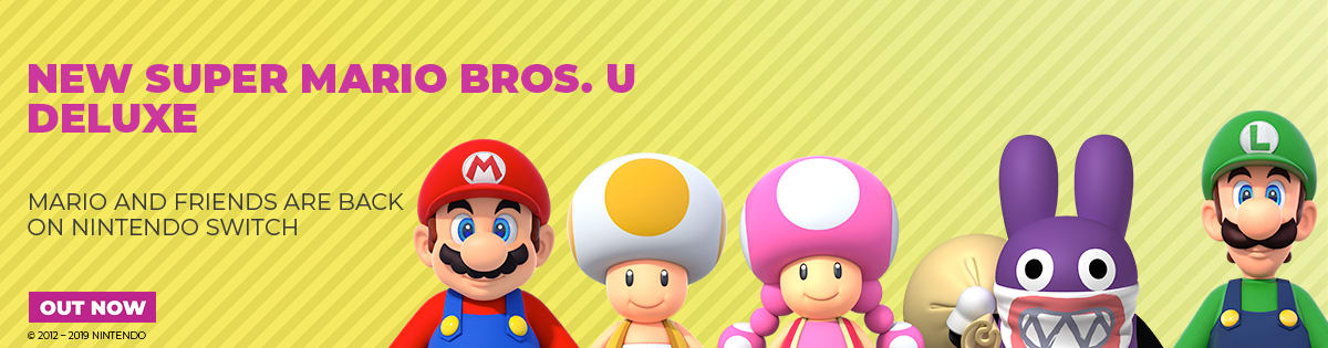 New Super Mario Bros U Deluxe Edition - Out Now