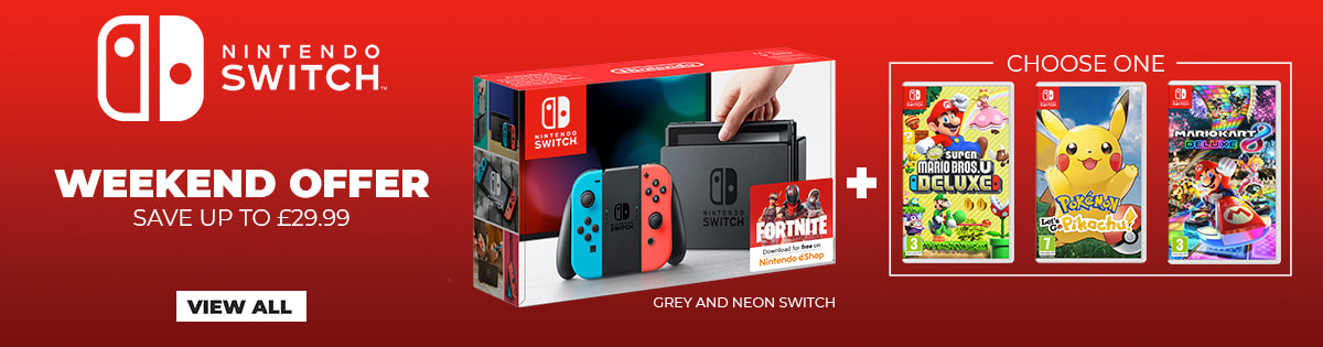 Nintendo Switch Weekend Offer - View All