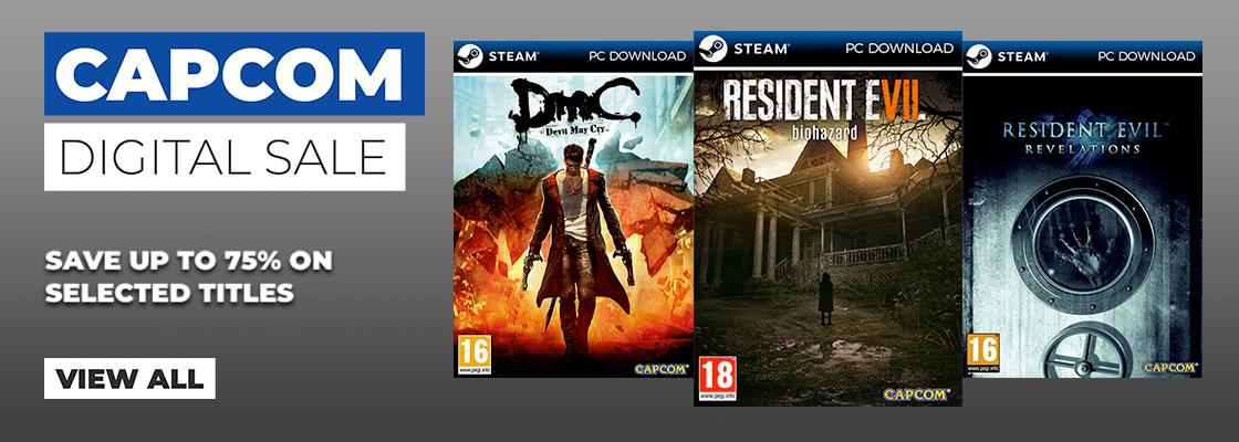 Capcom Digital Sale