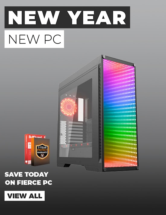 New Year, New PC - Save today on Fierce PC