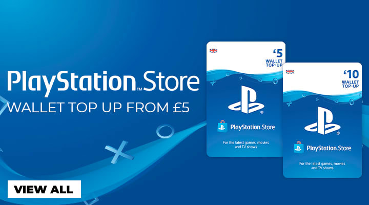 Top Up your Playstation Wallet at GAME