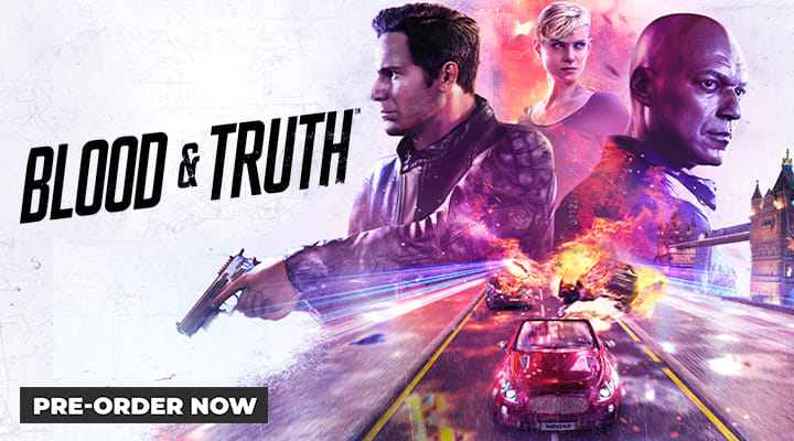 Blood and Truth - Only on PlayStation