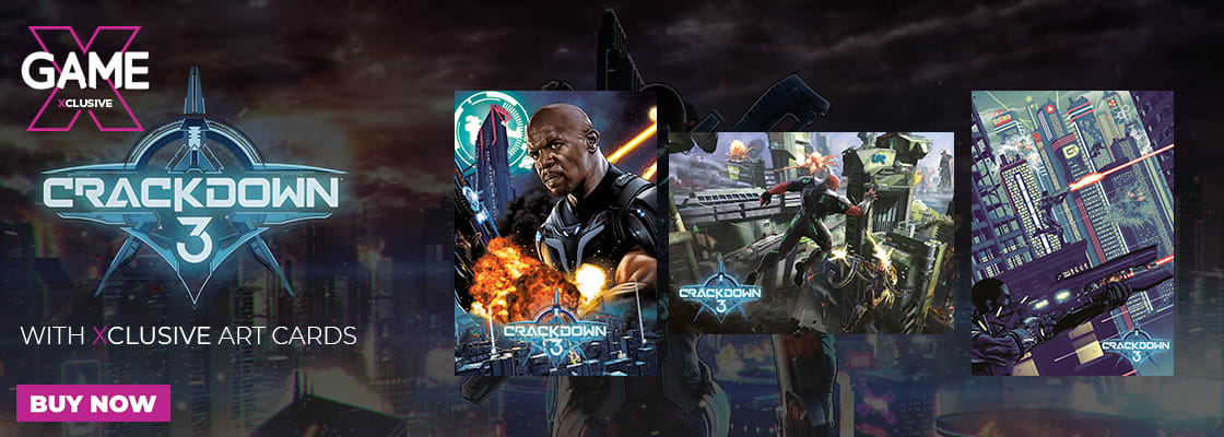Out Now - Crackdown 3