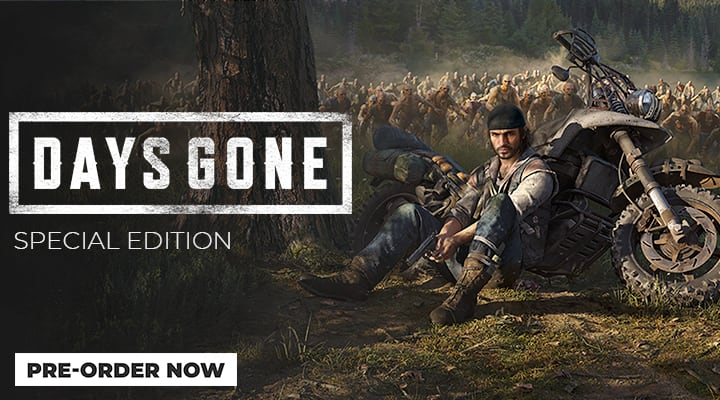 Days Gone Special Edition - Pre-Order Now