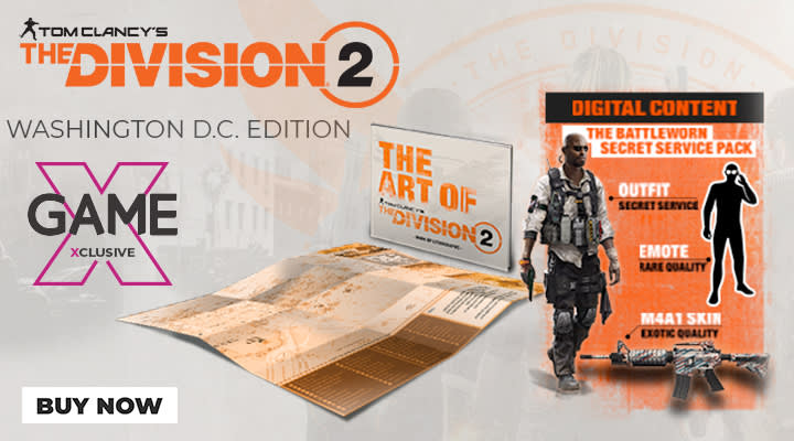 The Division 2 Washington Edition - Now available at GAME
