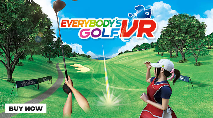 Everybody's Golf VR at GAME