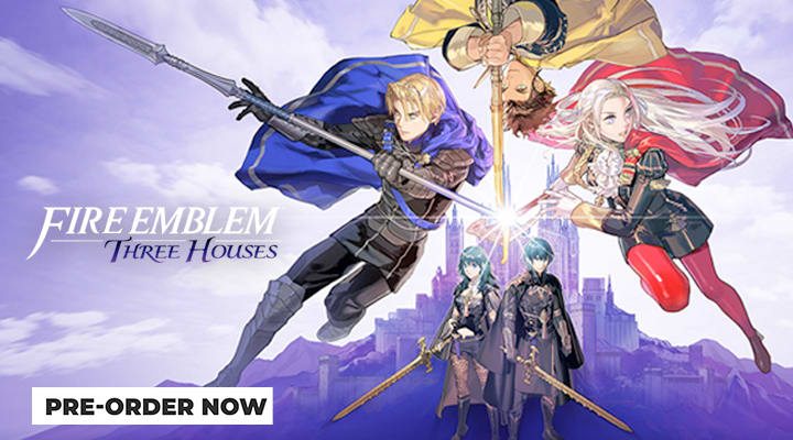 Fire Emblem Three Houses on Nintendo Switch