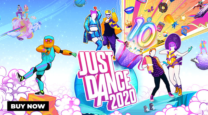 Just Dance 2020 on Nintendo Switch